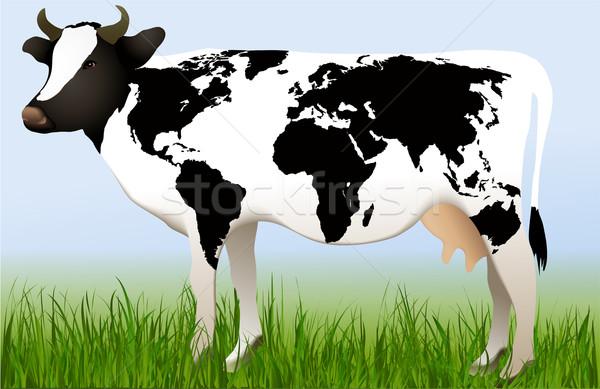 World cow Stock photo © jagoda