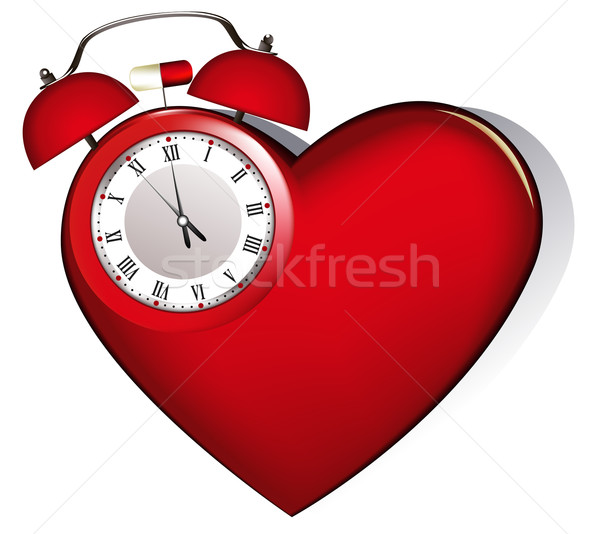 Heart's alarm Stock photo © jagoda