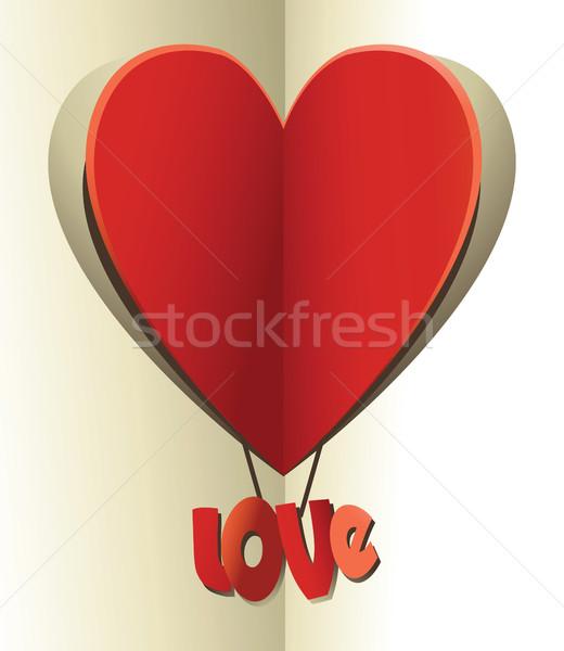 любви сердцах праздник сердце символ Сток-фото © jagoda
