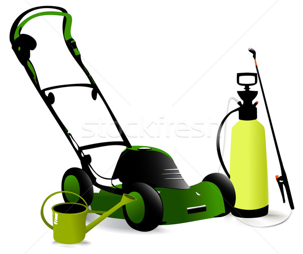 Modern garden tools Stock photo © jagoda
