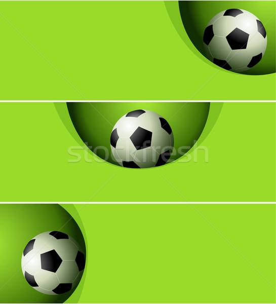 Football background Stock photo © jagoda