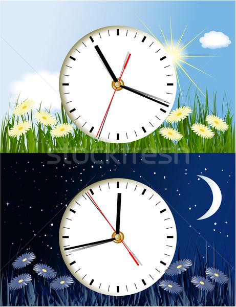 Day and night  Stock photo © jagoda