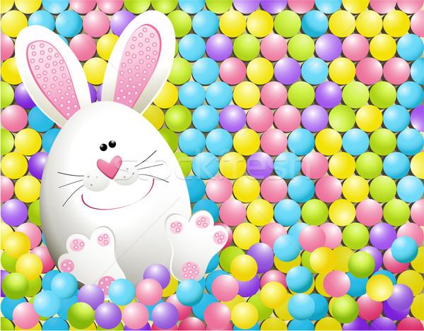 イースター ウサギ 食品 幸せ デザイン ストックフォト © jagoda