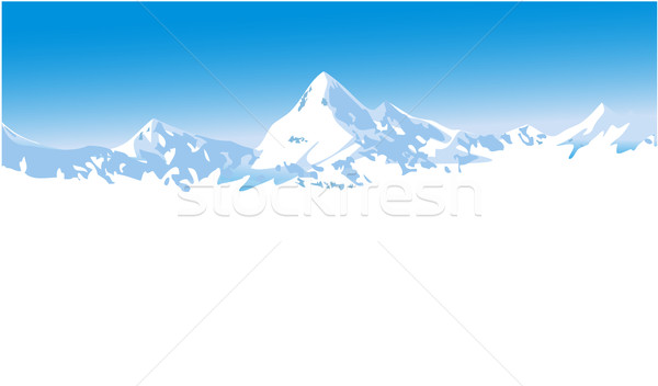 Winter mountains Stock photo © jagoda