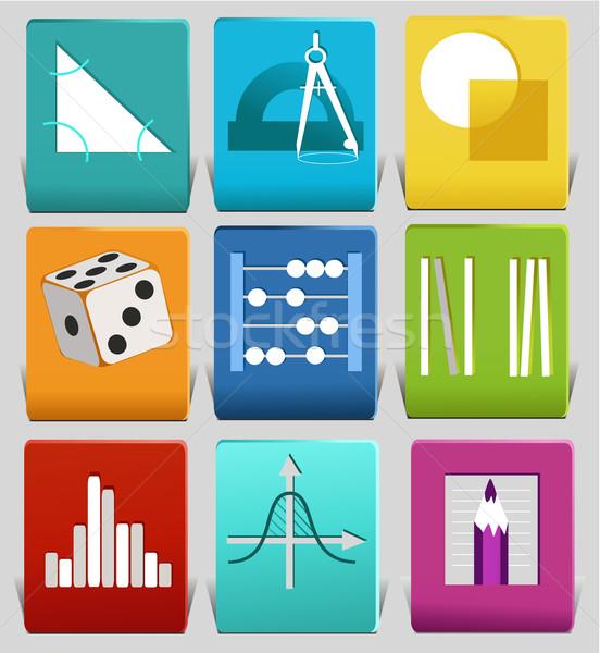 Math related symbols Stock photo © jagoda