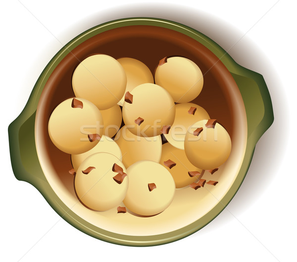 Dumplings with meat  Stock photo © jagoda