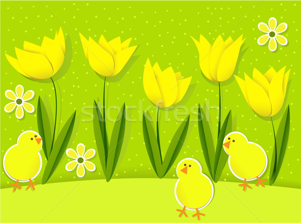 Easter background  Stock photo © jagoda