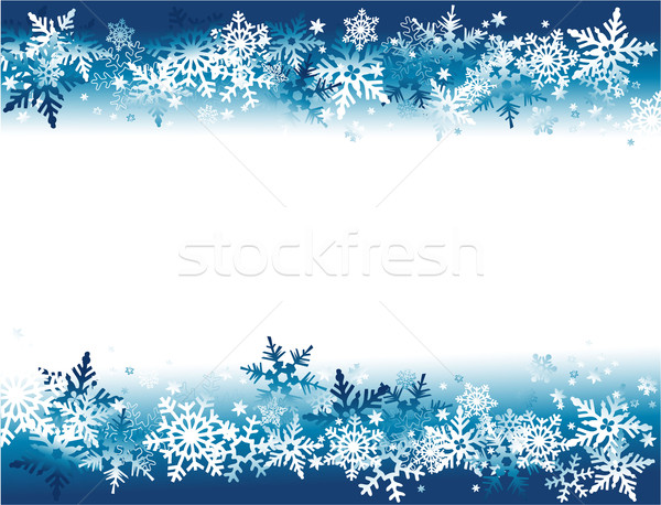 Inverno flocos de neve projeto neve fundos tempo Foto stock © jagoda