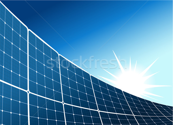 Solar collector background Stock photo © jagoda