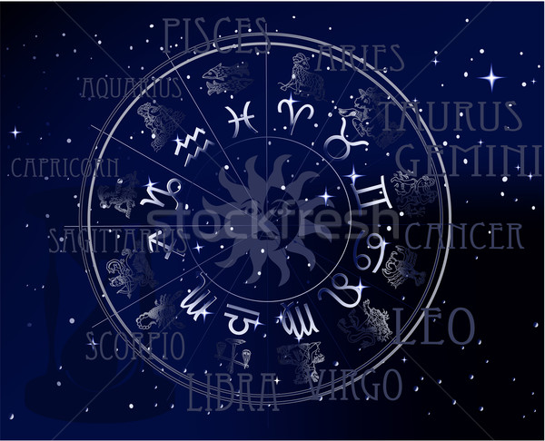 Horoscope  Stock photo © jagoda