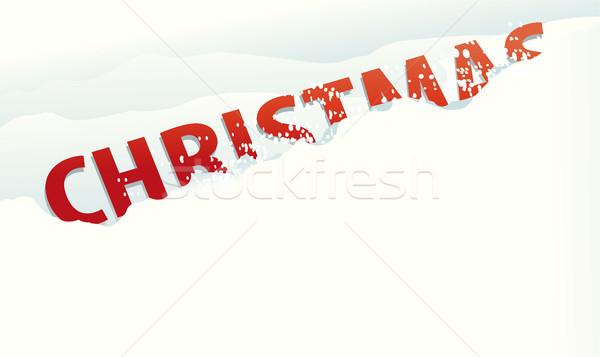 雪 クリスマス 休日 にログイン 抽象的な デザイン ストックフォト © jagoda