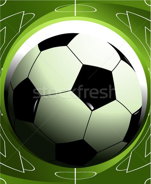 Abstract football background Stock photo © jagoda