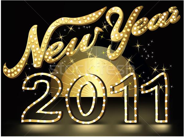 New Year's show background Stock photo © jagoda