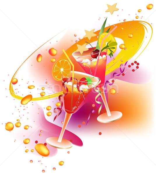 Party's drinks Stock photo © jagoda