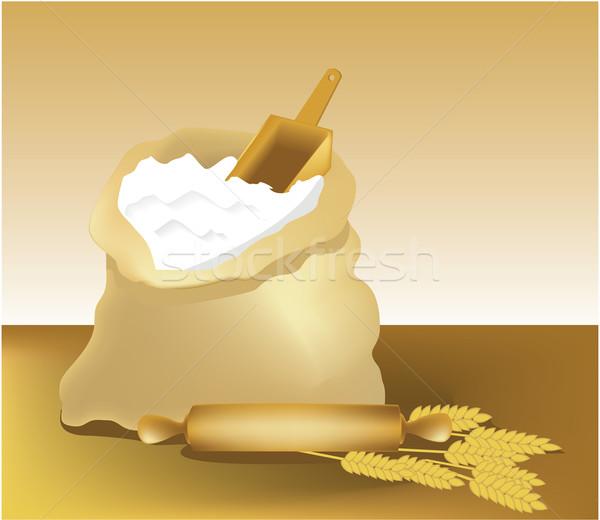 Flour Stock photo © jagoda