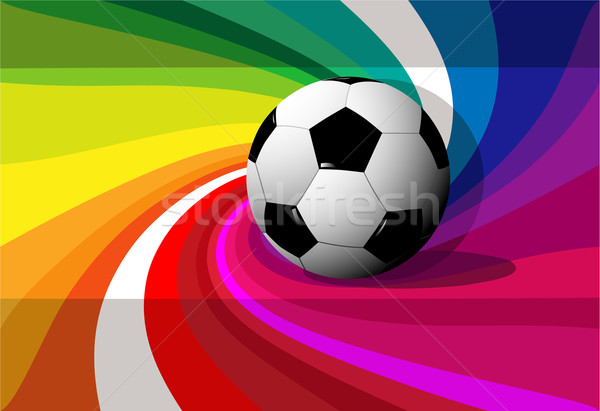 Futebol abstrato fundo esportes quadro Foto stock © jagoda