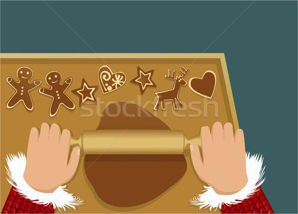 クリスマス 愛 中心 ギフト お祝い ストックフォト © jagoda