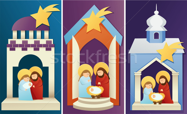 Nativity scene  Stock photo © jagoda