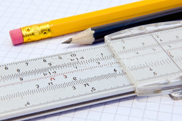 Slide rule  Stock photo © jakatics
