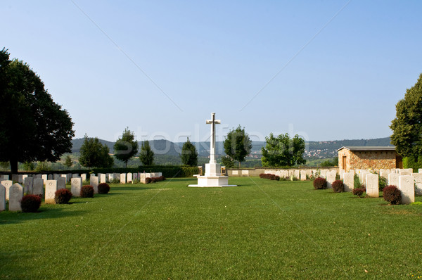 British military cemetery Stock photo © jakatics