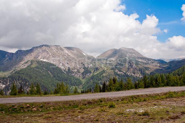 The Nockalm in the Alps Stock photo © jakatics