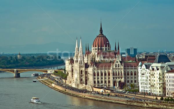 Parliament of Budapest Stock photo © jakatics