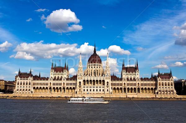 The Hungarian Parliament Stock photo © jakatics