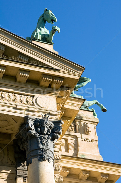 Detail of facade Stock photo © jakatics