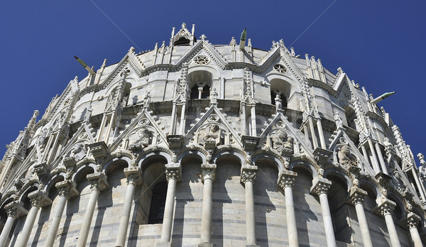 Exterior face of Campo dei Miracoli Stock photo © jakatics