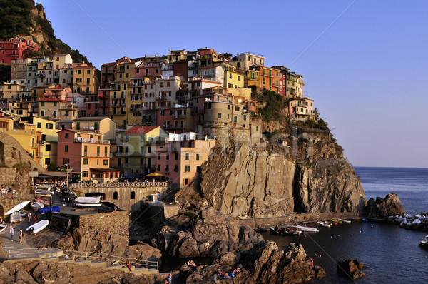 Manarola in Cinque Terre Stock photo © jakatics