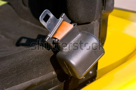 Safety belt of a forklift Stock photo © jakatics