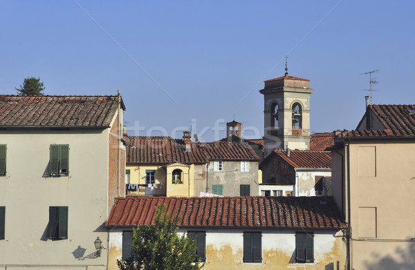 Houses of Lucca Stock photo © jakatics