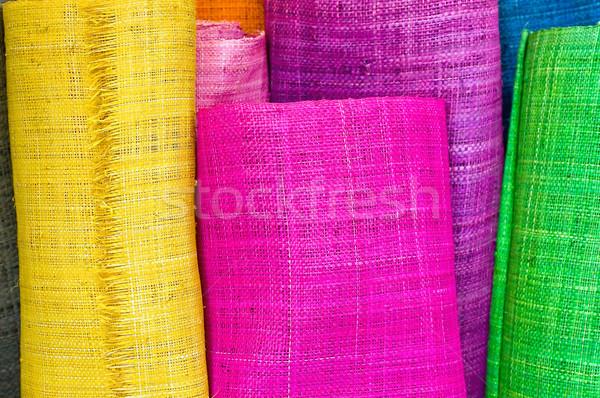 Textile rolls Stock photo © jakatics