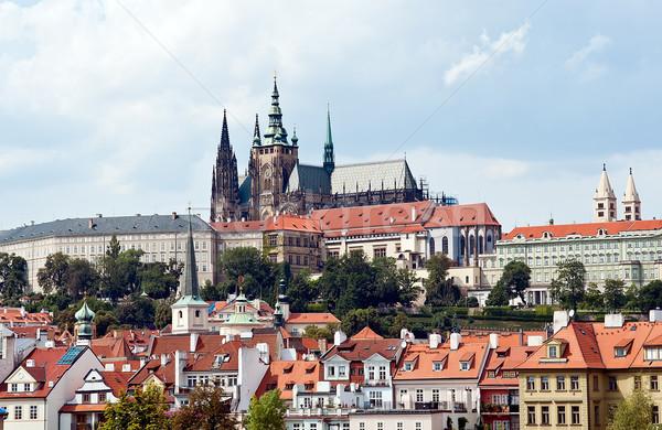 Prague Castle Stock photo © jakatics