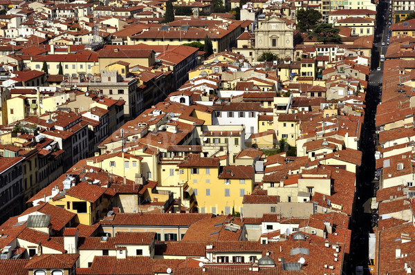 Roofs of Florence Stock photo © jakatics