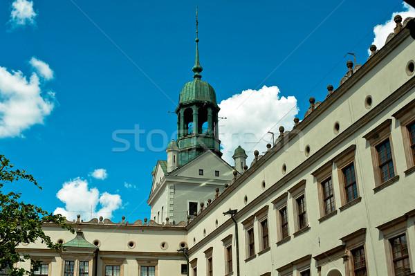 The Castle Szczecin Stock photo © jakatics