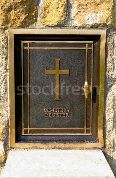 Cemetery register Stock photo © jakatics