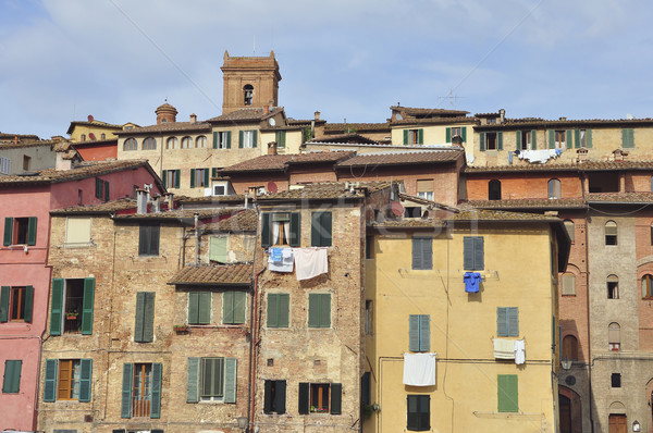 Houses of Siena Stock photo © jakatics