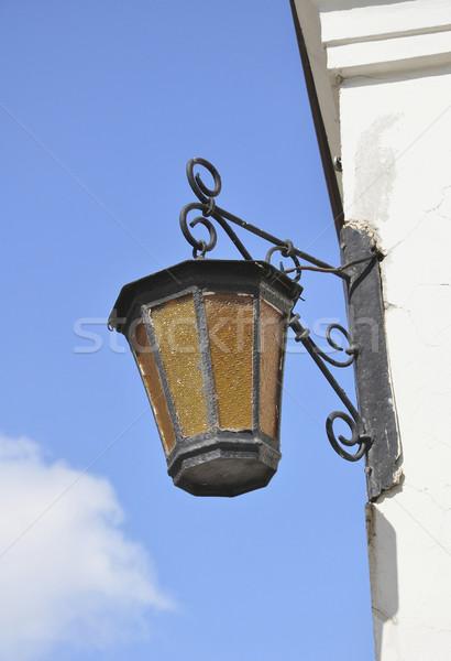 Old streetlamp Stock photo © jakatics