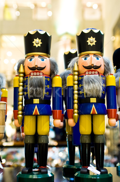Nutcrackers in the shop Stock photo © jakatics