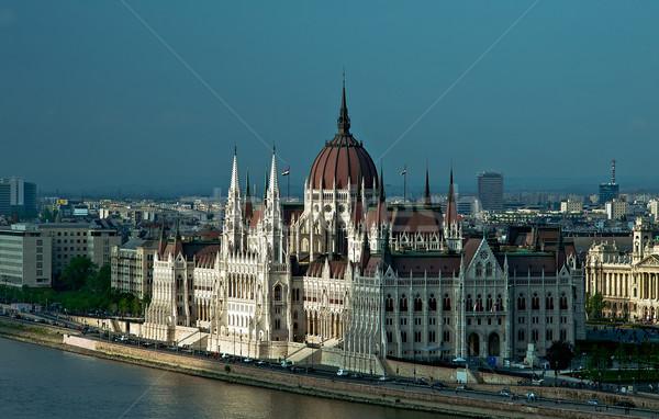 Parliament in Budapest Stock photo © jakatics