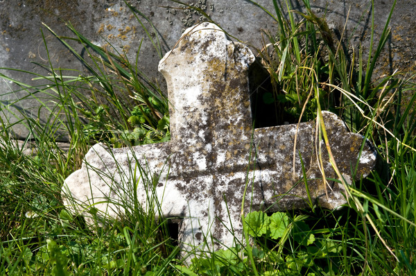 Tombstone Stock photo © jakatics