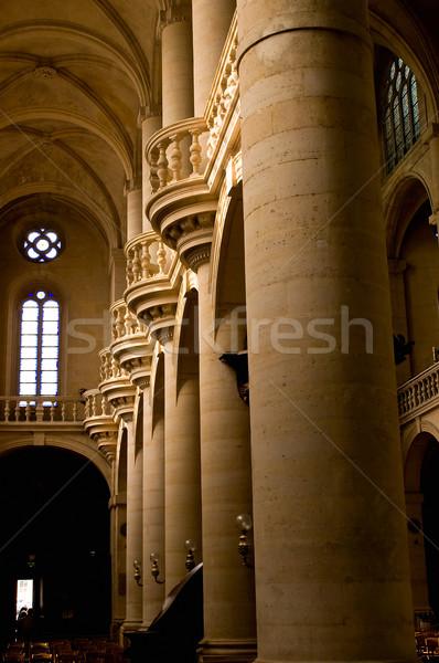 Interior of the Saint Etienne church in Paris Stock photo © jakatics
