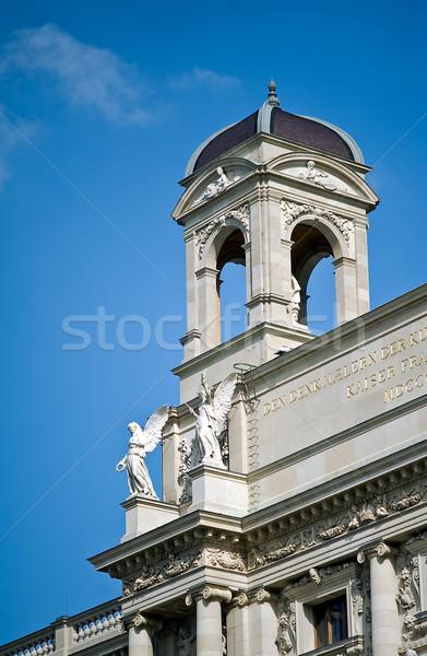 Sanat tarih müze detay Viyana Avusturya Stok fotoğraf © jakatics