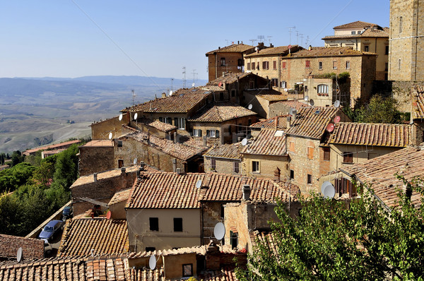 Houses of Volterra Stock photo © jakatics