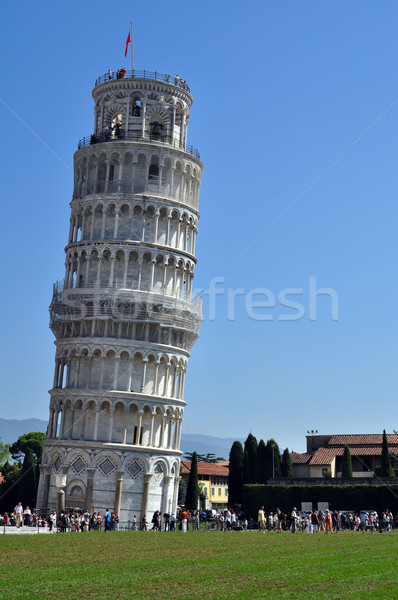 The leaning tower of Pisa Stock photo © jakatics