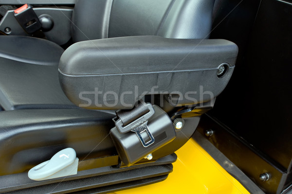 Armrest of a forklift Stock photo © jakatics