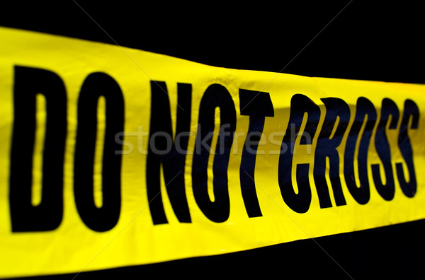 Crime scene Stock photo © jakatics