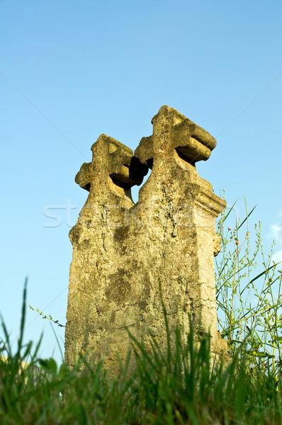 Tombstone Stock photo © jakatics