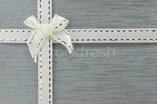 Hediye kutusu yay arka plan renk hediye sunmak Stok fotoğraf © jakgree_inkliang